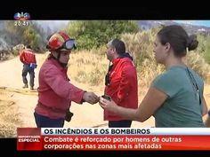 SIC REPORTAGEM ESPECIAL: O TRABALHO DOS BOMBEIROS NO COMBATE ÀS CHAMAS