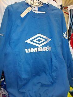 UMBRO | VINTAGE SHELL JACKET | WHITE BLUE UMBRO vintage