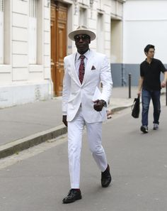 All white coolness #menswear