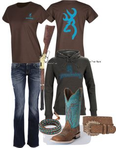 Browning Outfit - Love everything but the boots. Mine are better lol Country Style Outfits, Country Wear, Country Girl Style, Country Fashion, My Style, Country Life, Country Chic, Country Nails, Southern Outfits