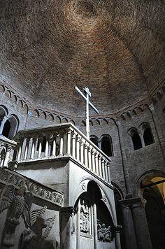 "Basilica del Sepolcro, Santo Stefano - ""Santo Stefano, the Seven Churches of Bologna"" by @Kathryn Burrington"