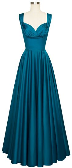 The Trashy Diva Honey Long Dress in Dragonfly Satin will make you stand out in a crowd!