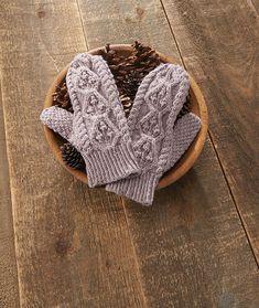 Ravelry: Hemlock Mittens pattern by Rae Blackledge