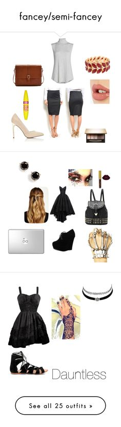 """""""fancey/semi-fancey"""" by jaydenloveyourstyle04unicorn ❤ liked on Polyvore featuring NIC+ZOE, Miss Selfridge, Joules, Charlotte Tilbury, Clarins, Maybelline, Zac Posen, Forever Link, Natasha Accessories and Kate Spade"""