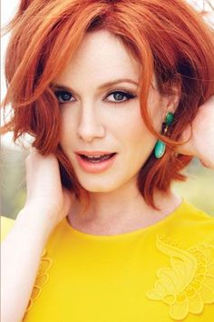 Who Knew? Christina Hendricks, Bona Fide Flower Child