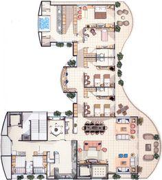 Libanus Condominium - 400㎡ - Meireles - Fortaleza/CE