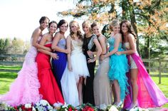 Group picture, #prom #promdress