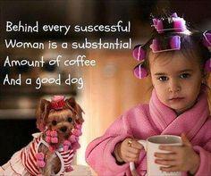 Doggone coffee.