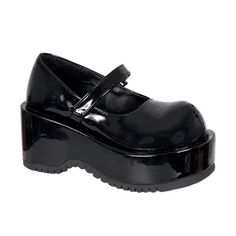 DOLLY-01 Gothic Lolita Mary Jane Shoes