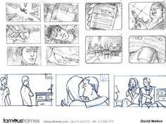 FamousFrames Storyboards, Animatic Artists, Storyboard Artists, David Mellon