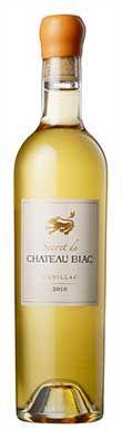 Secret de Château Biac, Cadillac 2010