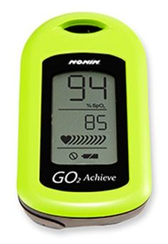 Amazon.com: Nonin GO2 Achieve Finger Pulse Oximeter Green: Health & Personal Care Someone get me this for Christmas!