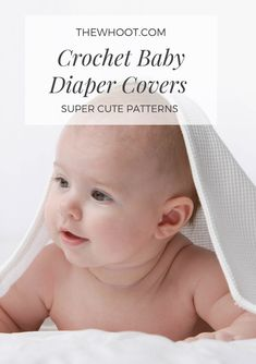 You will love these baby crochet diaper cover pattern ideas and there is something for everyone including popular ruffled version. Newborn Crown, Newborn Hats, Easy Crochet Slippers, Crochet Baby Booties, Free Baby Stuff, Babies Stuff, Diaper Cover Pattern, Free Diapers, Baby Education