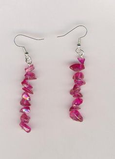 Silver-Plated/Stainless Steel Iridescent Glass Bead Earrings.  $7.50. I support Military families. Looking to buy something special for a lady in the Military or family member in the Military? I offer top-quality jewellery. CHEAPLY-PRICED. FREE NECKLACE GIFT with every purchase. The more items you buy the more free necklace gifts you receive. Visit my online shop and I'll start taking your orders: https://www.etsy.com/ca/shop/JehovahJJewellery?ref=si_shop