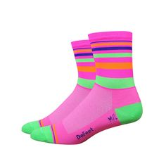 DeFeet Saturn Hi Vis Socks   Cycling Socks