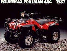 Honda FourTrax Foreman 4x4 1987