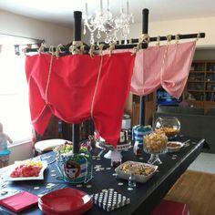 Si vas a organizar un cumpleaños temático pirata esta idea de decoración te será de gran ayuda #party #decoracion