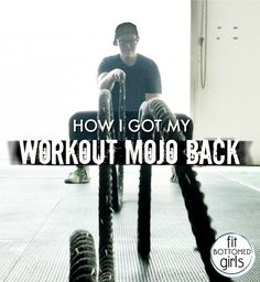 Lost that loving feeling with your workouts? Here's one way to get it back. | Fit Bottomed Girls