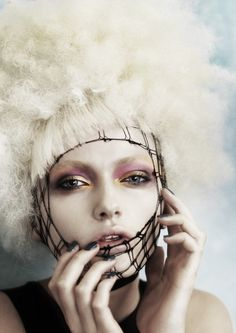Nuage, by Caterina Di Biase   Credits Hair: Caterina Di Biase, Heading Out Hair & Beauty, Australia Product: LÓreal Techniart Photographer: Andrew O'Toole Website: headingout.com.au
