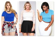 plus size crop tops - Google Search