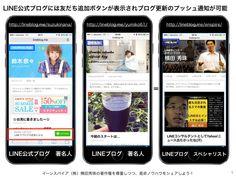 LINE@ビジネス活用コンサルタント横田秀珠 - LINE公式ブログに友だち追加ボタンが表示されブログ更新のプッシュ通知が可能 - Powered by LINE