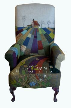 I adore this chair by Rustique Interiors. I saw it on Facebook and just had to pin it!❤