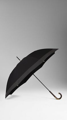Twill Canopy Walking Umbrella | Burberry