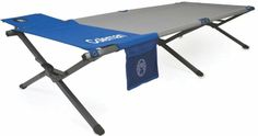 Coleman River Gorge EZ Sleep Cot is an easy to use and very reliable camping cot with a bonus side pouch and a bottle holder. Camping Cot, Military Fashion, Military Style, Camping Survival, Bed Sizes, Drafting Desk, Bag Storage, Tent, Sleep