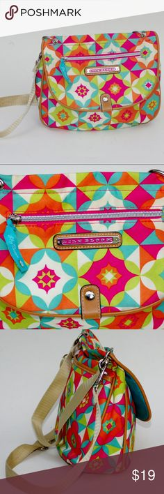 NWOT Bright BOHEMIAN Purse Crossbody Bag FUN! By Lily Bloom Unused Colorful Bohemian X-body bag purse handbag Features 2 straps for conversion- one for handbag one adjustable for shoulder or crossbody Siimply Smashing! Lily Bloom Bags Shoulder Bags
