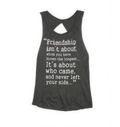 CUTE FRIENDSHIP SHIRT!!❤