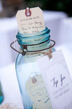 Here's a tip: A Wedding Guest Book Alternative