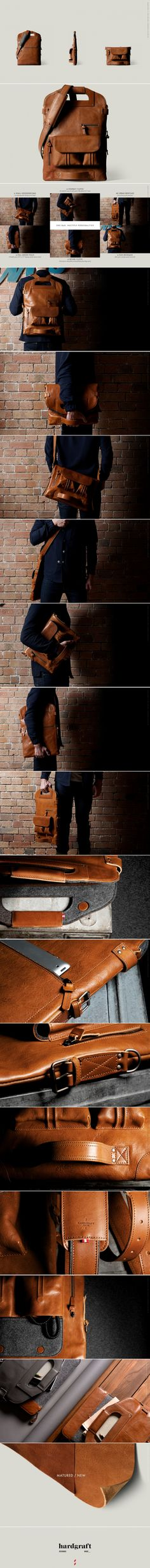 2Unfold - Foldable Multi-use Laptop Bag – HARDGRAFT