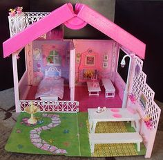 Barbie fold n fun house! | Back in the day | Pinterest