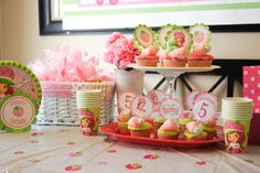strawberry themed party - Google Search
