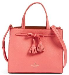Kate Spade New York Hayes Street Isobel Leather Satchel - Red #aff