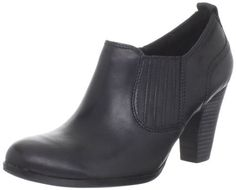"""Clarks Women's Attitude Pose Ankle Boot                                 leather                    Rubber sole                    Shaft measures approximately 3.75"""" from arch                    Heel measures approximately 2.75""""                    Boot opening measures approximately 11.25"""" around                    Grey Resembles a shade of Brown.                    Ortholite footbed wicks moisture, breathable, absorbs shock…"""