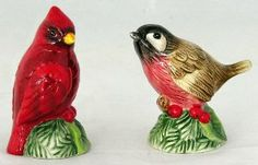 Fitz and Floyd Santa's Forest Friends Salt & Pepper Shaker Set Birds Cardinal #29-222 by Fitz and Floyd. $11.84. Figural. Fitz and Floyd. Santa's Forest Friends pattern. Salt and Pepper Shaker Set. Item #29-222. Beautiful, figural salt and pepper shaker set. Made from ceramic. Hand wash. Macy's exclusive. Great accent to any table or would make a nice gift.