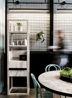 An Industrial interior in concrete and steal   Patch cafe Melbourne