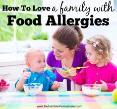 Do you know anyone who deals with food allergies? Ever wondered how to really help? Here are some helpful tips.