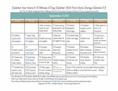 Want to get your home decluttered? Grab your free copy of the printable September 2015 declutter calendar with daily 15 minute missions and follow along with the Declutter 365 missions {courtesy of HomeStorageSolutions101}