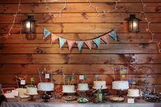 Charming Dessert Table