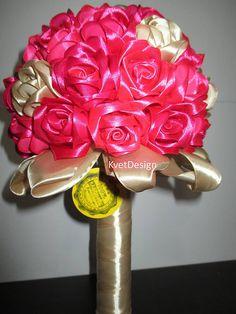 Dekorácie - Kytička ruží - 6575849_
