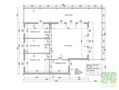 MARIA & RUI - 140,35m2 Beams, Floor Plans, Construction, Building, House, Home, Buildings, Haus, Houses