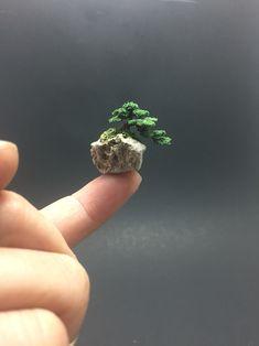 Micro wire bonsai sculpture by Ken To #bonsaialambre