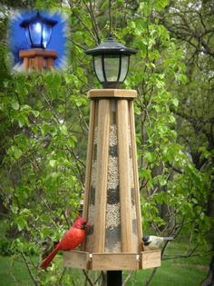 Light House Bird Feeder