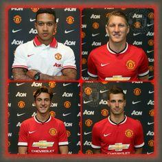 Welcome Depay, Schweinsteiger, Darmian, Schneiderlin Manchester United Football, Sport Tennis, Football Players, The Unit, Club, Baseball Cards, Sports, Life, Bavaria
