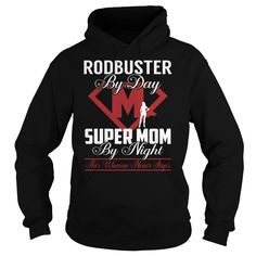 Rodbuster Super Mom Job Title TShirt