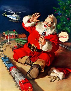 Love the Santa, and the train