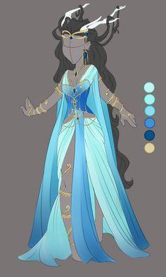 :: Commission Mar 04: Outfit Design :: by VioletKy.deviantart.com on @DeviantArt