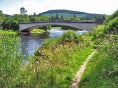 Bridge over the Dee at Aboyne.